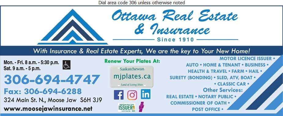 Ottawa Real Estate Co Ltd - Insurance Digital Ad