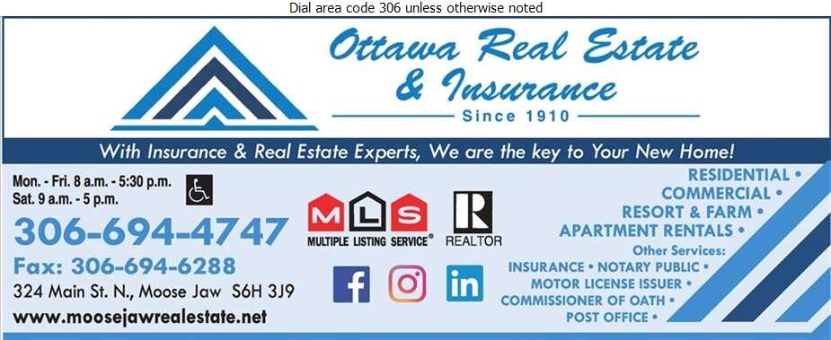 Ottawa Real Estate & Insurance (Centre-Ville Comptoir Postal) - Real Estate Digital Ad