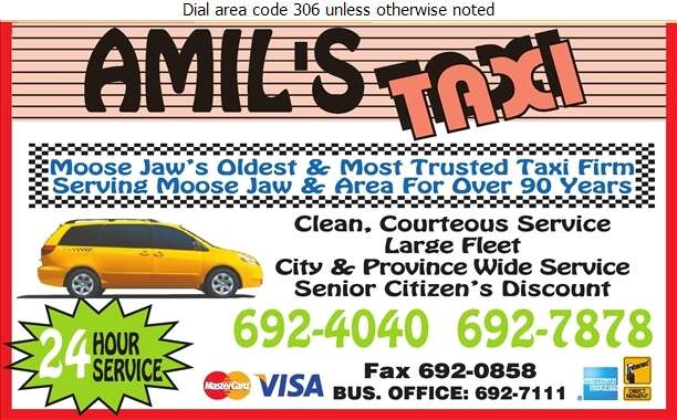 Amil's Diamond Taxi - Taxicabs Digital Ad