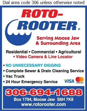 Roto-Rooter - Sewer Contractors Digital Ad