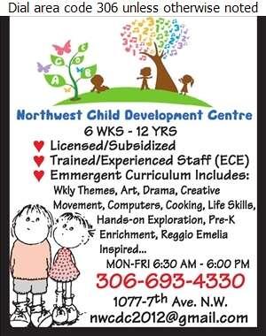 Northwest Child Development Centre - Day Care Centres & Nurseries Digital Ad