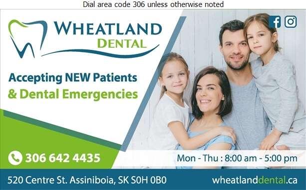 Wheatland Dental Centre - Dentists Digital Ad