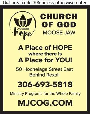 Church Of God - Church Organizations & Clergy Digital Ad