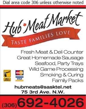 Hub Meat Market - Meat Markets Digital Ad