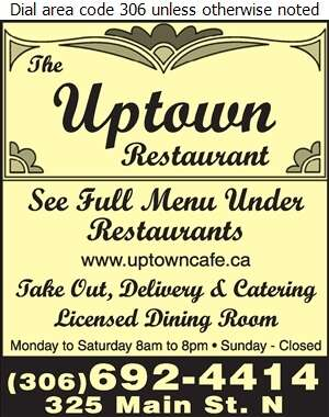 Uptown Cafe - Chinese Foods Digital Ad