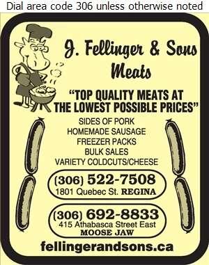 Fellinger & Sons Meats - Meat Markets Digital Ad