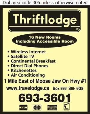 Thriftlodge - Motels Digital Ad