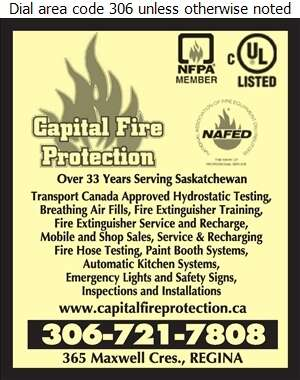 Capital Fire Protection Ltd - Fire Prevention & Protection Equipment Digital Ad