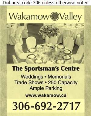 Wakamow Valley - Halls & Auditoriums Digital Ad