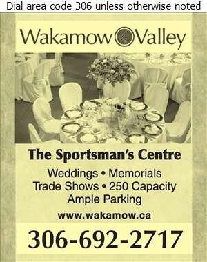 Wakamow Valley - Halls & Auditoriums Digital Ad