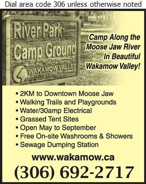 River Park Campground - Camping Grounds & Parks Digital Ad