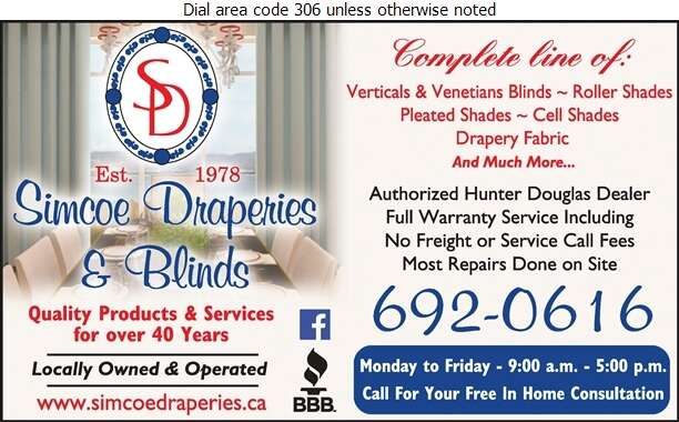 Simcoe Draperies - Blinds Retail Digital Ad