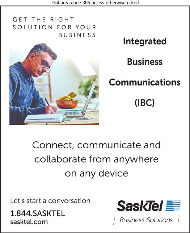 SaskTel Business Solutions - Telephone Companies Digital Ad