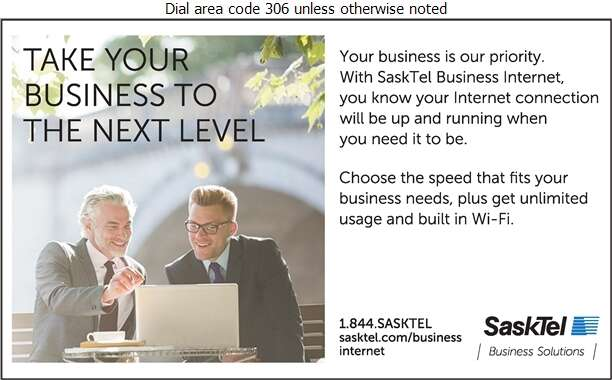SaskTel Business Solutions - Internet Products & Services Digital Ad