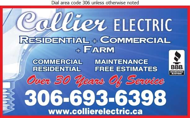 Collier Electric - Electric Contractors Digital Ad