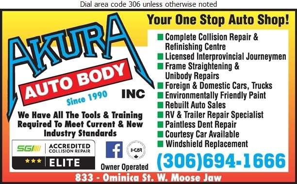 Akura Auto Body - Auto Body Repairing Digital Ad