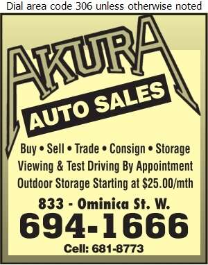 Akura Auto Body - Auto Dealers Used Cars Digital Ad