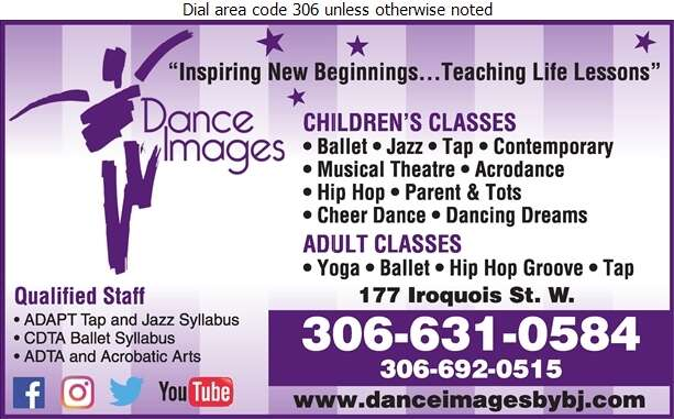 Dance Images By BJ - Dancing Studios Digital Ad
