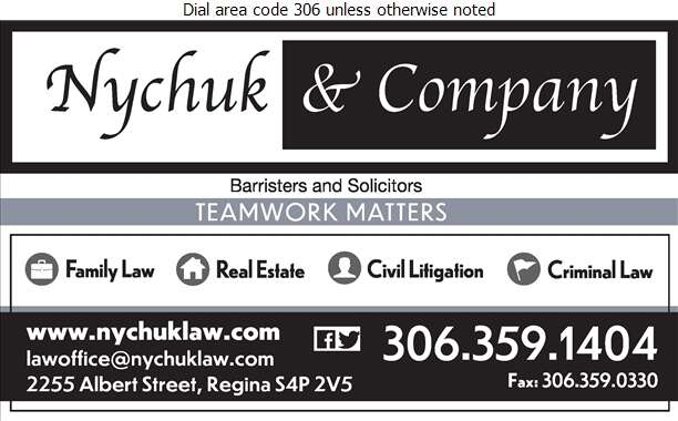 Nychuk & Company - Lawyers Digital Ad