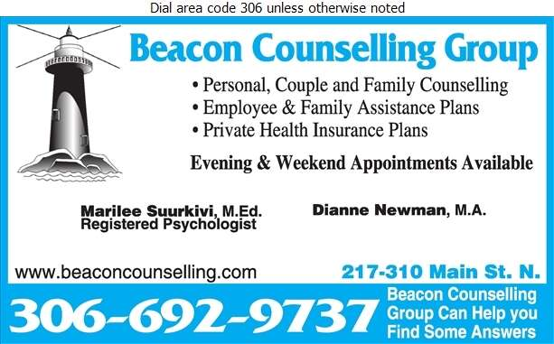 Beacon Counselling Group (Marilee Suurkivi) - Counselling Digital Ad