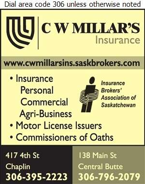 C W Millar's Insurance - Insurance Digital Ad