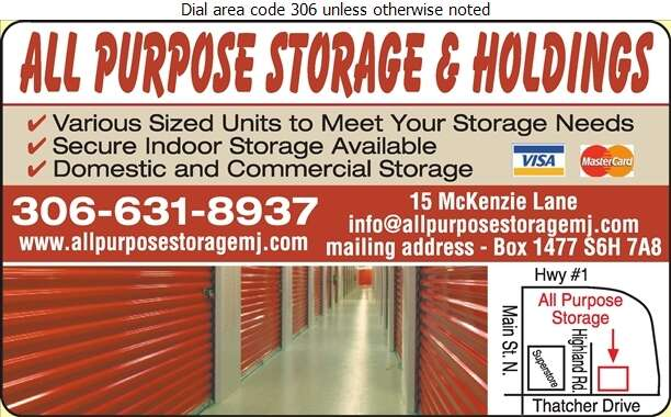 All Purpose Storage - Storage- Household & Commercial Digital Ad