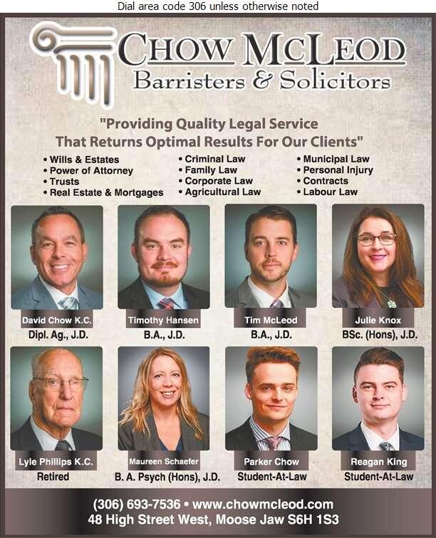 Chow McLeod - Lawyers Digital Ad