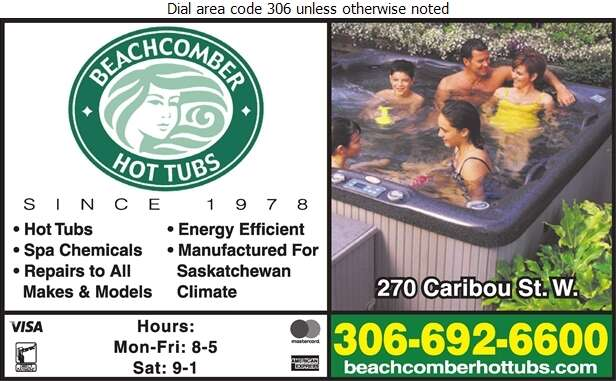 Beachcomber Hot Tubs - Hot Tubs Sales, Service & Rentals Digital Ad