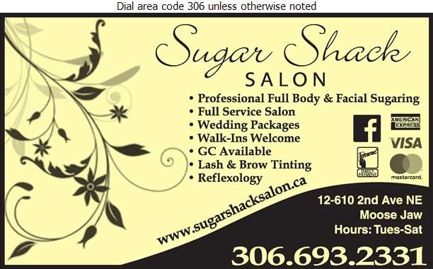 Sugar Shack - Beauty Salons Digital Ad