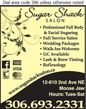 Sugar Shack - Spas - Health & Beauty Digital Ad