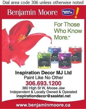 Inspiration Decor MJ Ltd - Paint Retail Digital Ad