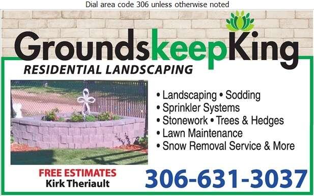 GroundskeepKing - Landscape Contractors & Designers Digital Ad