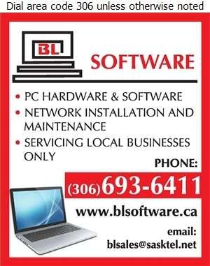 BL Software - Computers Digital Ad