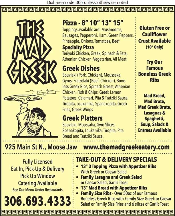 The Mad Greek - Pizza Digital Ad