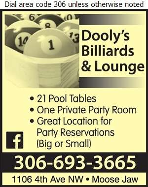 Dooly's Billiards & Lounge - Billiard Parlours Digital Ad