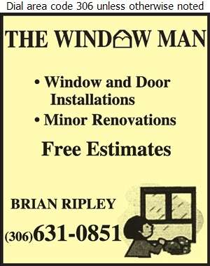 The Window Man - Windows Digital Ad