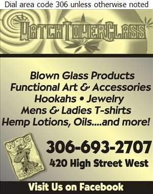 Watch Tower Glass - Hemp Products Digital Ad