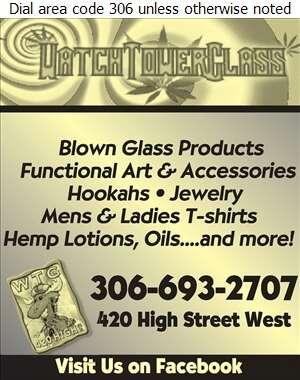 Watch Tower Glass - Hemp Products Digital Ad