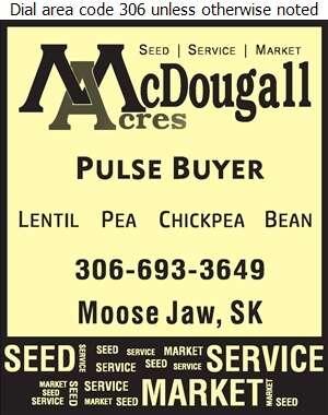McDougall Acres Ltd - Grain Merchants Digital Ad