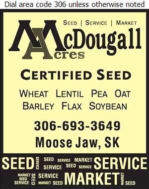 McDougall Acres Ltd - Seed Pedigreed Digital Ad