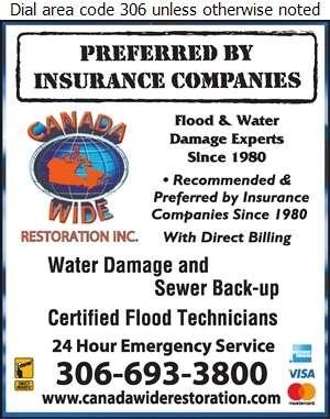 Canada Wide Restoration Inc - Flood Damage Restoration & Floodproofing Digital Ad