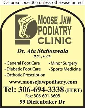 Stationwala Ata Dr - Podiatrists Digital Ad