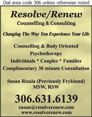 Resolve Renew Counselling & Consulting - Counselling Digital Ad
