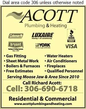 Acott Plumbing & Heating - Heating Contractors Digital Ad