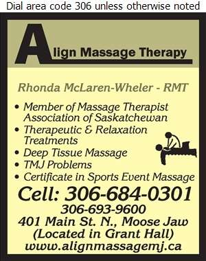 Align Massage Therapy - Massage Therapists Digital Ad