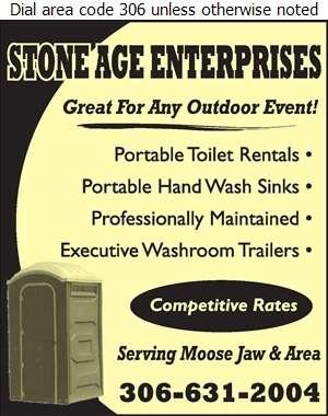 Stone Age Enterprises - Toilets Portable Digital Ad