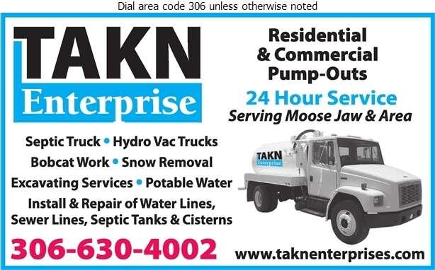 TAKN Enterprise - Septic Tanks Sales & Service Digital Ad