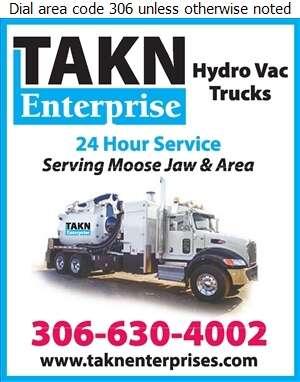 TAKN Enterprise - Hydrovac Contractors Digital Ad