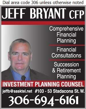 Investment Planning Counsel (Jeff Bryant CFP) - Financial Planning Consultants Digital Ad