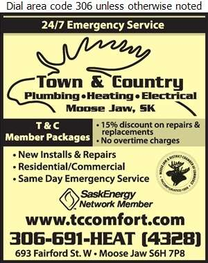 Town & Country Plumbing & Heating - Furnaces Heating Digital Ad